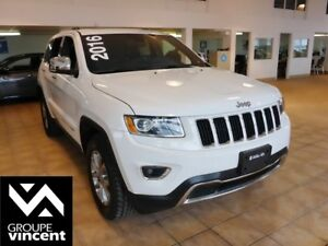 2016 Jeep Grand Cherokee LIMITED**MAGS / CUIR / TOIT**