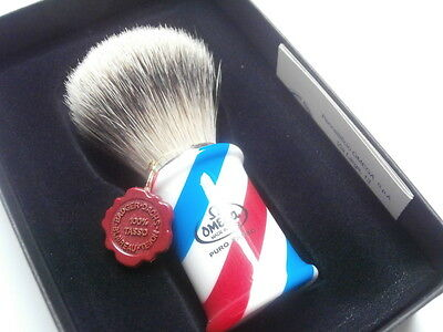 TOP Rasierpinsel OMEGA Dachs Best badger Dachs Shaving brush Barber Pole