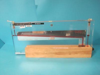 Dwyer Instrument Durablock Manometer Model 424 Mm Of Water Differential Pressure