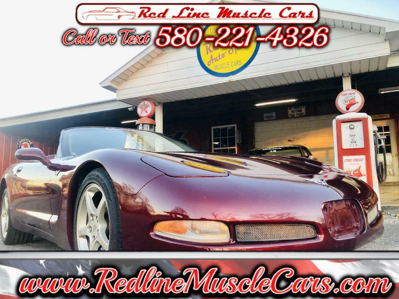 2003 Burgundy Chevrolet Corvette Convertible  | C5 Corvette Photo 1