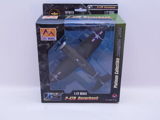 LOT 39805 | EASY MODEL 36424 P-47D Razorback Fertigmodell 1:72 NEU in OVP