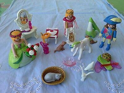 Usado, Playmobil PRINCESAS, muñecos y accesorios. Perfecto estado comprar usado  Enviando para Brazil