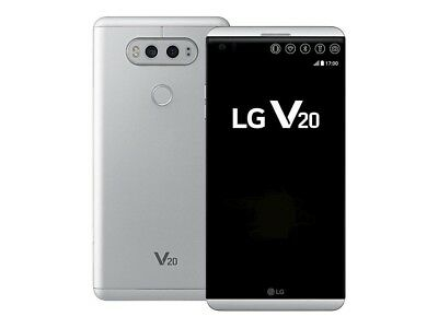 Factory Unlocked LG V20 H910 - 64GB 4G LTE (AT&T T-Mobile)GSM World Phone Silver