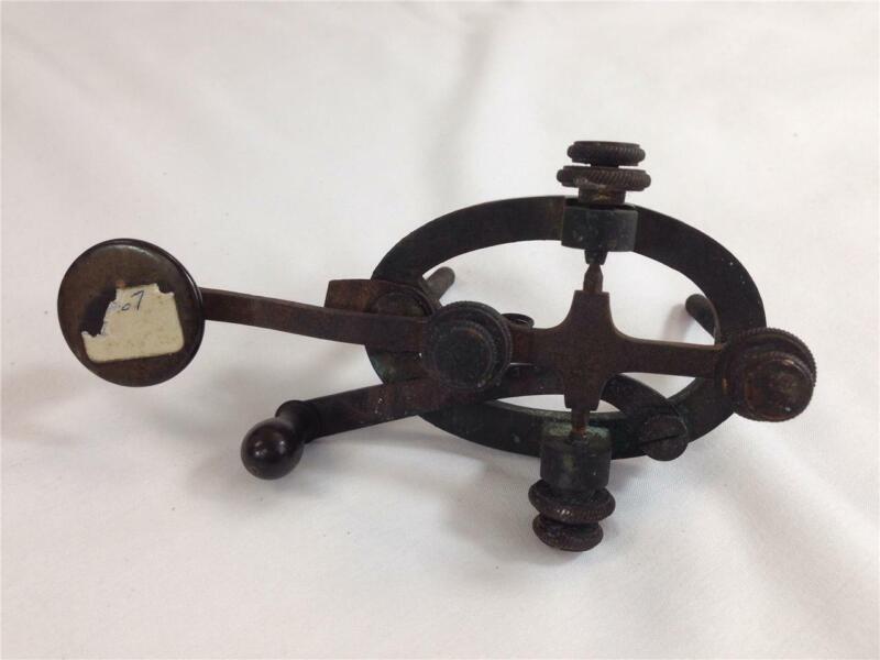 Vintage J.H. Bunnell & Co. Legged Telegraph Key