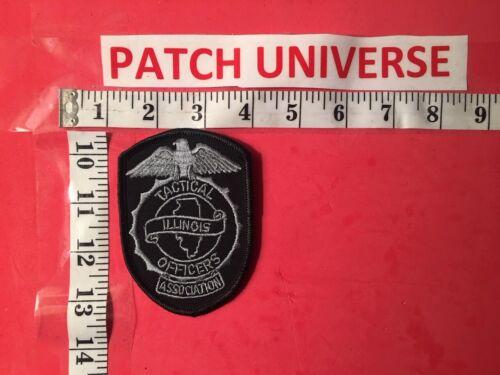 ILLINOIS TACTICAL OFFICERS ASSOCIATION  SHOULDER PATCH  K062