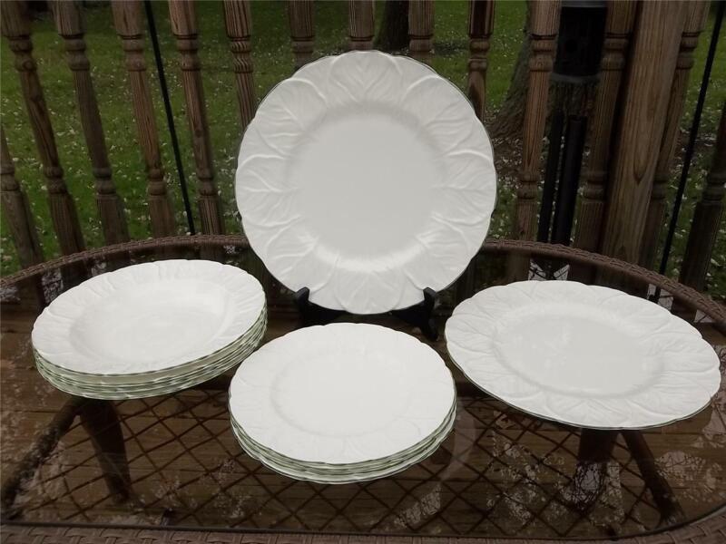 COALPORT COUNTRYWARE for TIFFANY & CO. DINNER PLATES SALAD & RIM BOWLS * XLNT!