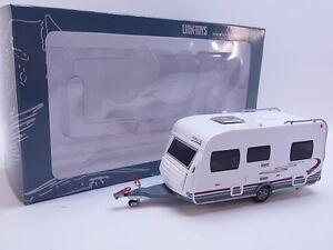 LOT 37907 Lion-Toys Hobby Modell 16cm Wohnwagen Caravan modern Home-Car NEU OVP