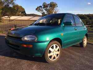 Immaculate 1995  mazda 121 120xxxkm Awaba Lake Macquarie Area Preview