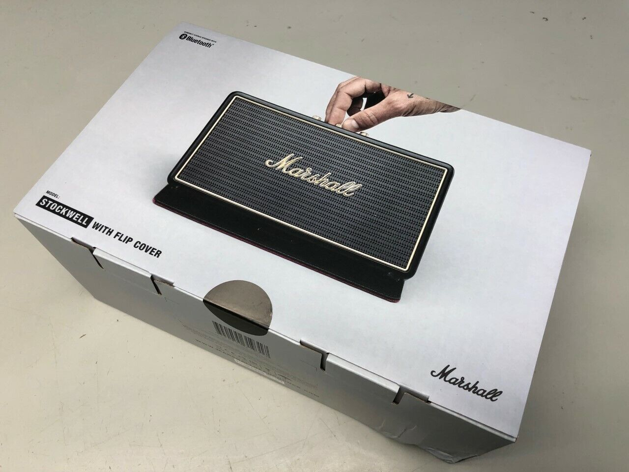 Marshall 'Kilburn' Bluetooth Speaker, Size One Size - Black