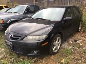 2006 Mazda Mazda6 GS, MANUAL TRANSMISSION! - VEHICLE SOLD AS IS!