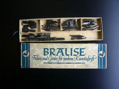 Schreibfedern Brause - Federn und Geräte für morderne Kunstschrift - um 1920