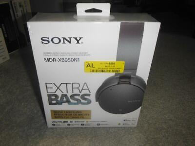 NEW Sony MDR-XB950N1/B Bluetooth Noise Cancelling Extra Bass Headphones