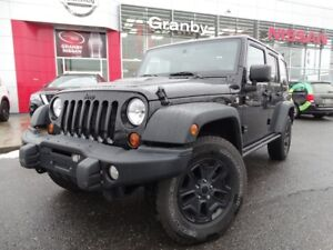 2013 Jeep Wrangler Unlimited EDITION MOAB/4X4/CUIR/NAVIGATION GP