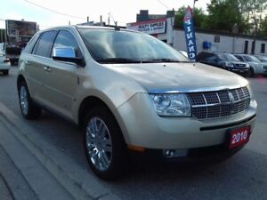 2010 Lincoln MKX 2 PANORAMA ROOF - NAVI -