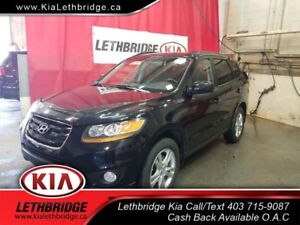 2010 Hyundai Santa Fe Limited 3.5 ONE OWNER, VERY LOW KM, HEA...