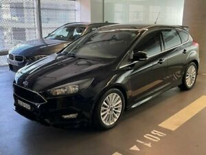 2015 Ford Focus LZ Sport Black 6 Speed Automatic Hatchback