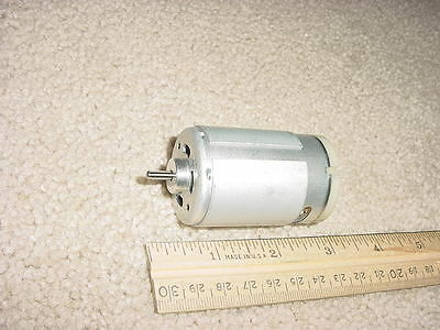 Small Dc Electric Motor 6 - 12 Vdc 17000rpm 1 Amp M78