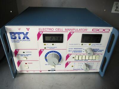 Btx Electroporation Digital Electro Cell 600 Manipulator Ecm-600 Capacitance