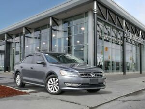2012 Volkswagen Passat Heated seats, Bluetooth audio, Power seat