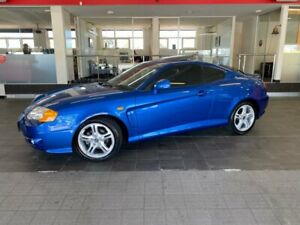 2004 Hyundai Tiburon GK V6 Coupe 2dr Spts Auto 4sp 2.7i [Jan] Blue Sports Automatic Coupe