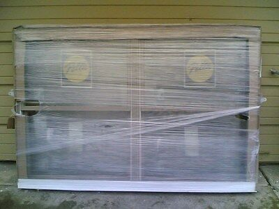 NEW: Nice PELLA House Home Wood DOUBLE DOUBLE-HUNG WINDOW 71x48  (Clad Exterior)