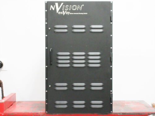 NVISION ENVOY UNIVERSAL ROUTING SWITCH 16X16 HD MATRIX 128X32 CROSSPOINT II