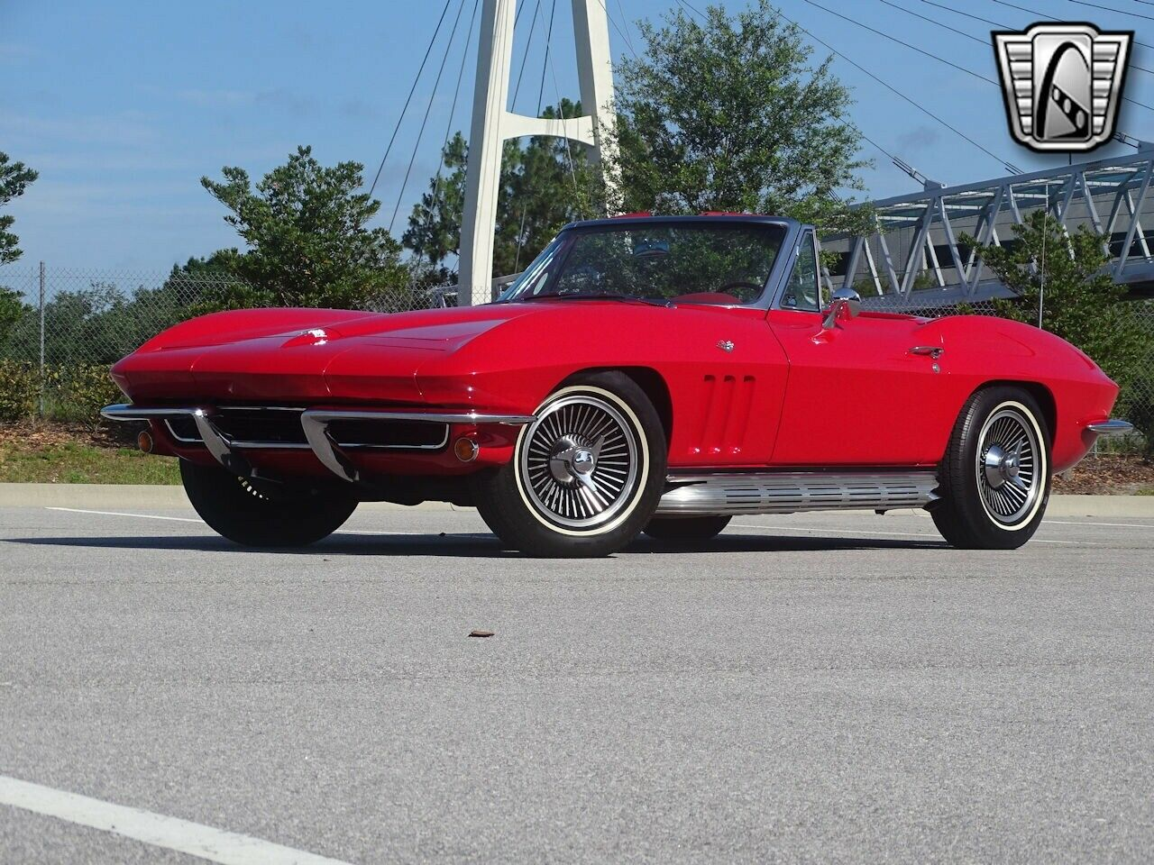 1965 Red Chevrolet Corvette Stingray  | C2 Corvette Photo 5