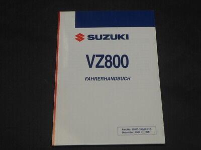 SUZUKI VZ800 K5 2005 FAHRERHANDBUCH OWNER MANUAL
