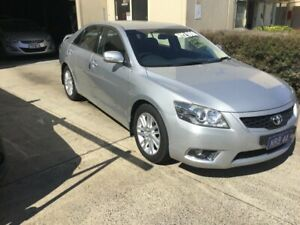 2011 Toyota Aurion GSV40R 09 Upgrade Prodigy Silver & Chrome 6 Speed Auto Sequential Sedan Maroochydore Maroochydore Area Preview