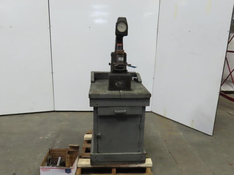 Wilson Rockwell Model 3JR Hardness Tester W/Tooling