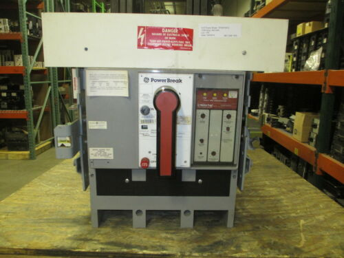 Ge Powerbreak Tpvvf5610 1000a 3p 600v Mo/do Circuit Breaker W/ Lig Used E-ok