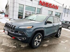 2015 Jeep Cherokee Trailhawk Trailhawk with Leather and Navigati
