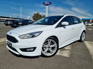 2017 Ford Focus LZ Titanium White 6 Speed Automatic Hatchback Kilmore Mitchell Area Preview
