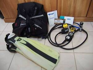 SCUBA DIVING GEAR FOR SALE (USED 1 TIME) Currambine Joondalup Area Preview