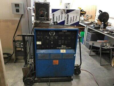 Miller Syncrowave 300 Welder Cart Tig