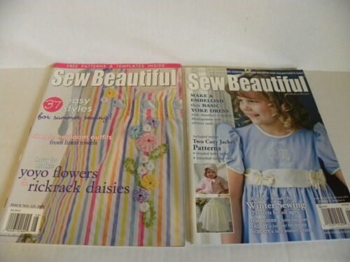 Sew Beautiful Magazine with Uncut pattern