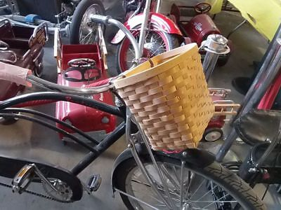 Wicked Witch Bike (Wicker  bicycle basket Style Broad weave. Wicked witch of the West OLD)
