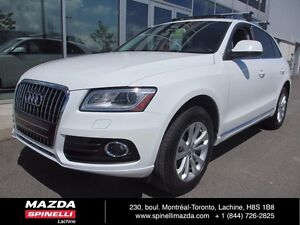 2013 Audi Q5 2.0L Premium QUATTRO LEATHER PANO ROOF AWD