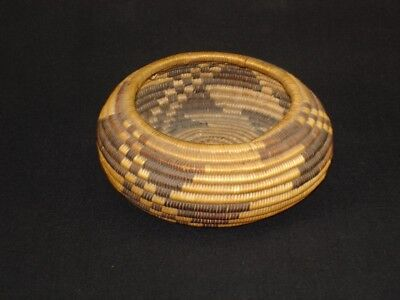 A finely and well-woven Pomo gift basket, Native American Indian, Circa: 1900