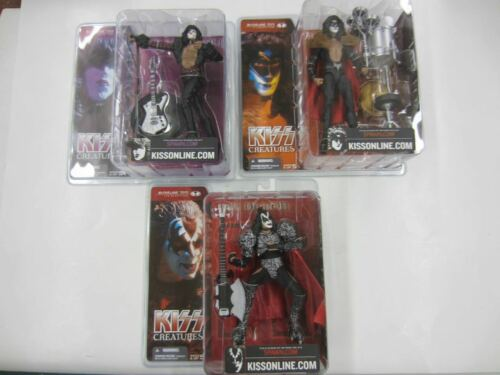 2002 McFarlane KISS CREATURES Lot Of 3 Action Figures New Starchild Demon Fox