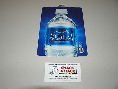 Dixie Narco 501e 276hv Soda Vending Machine Aquafina 20oz Bottle Vend Label