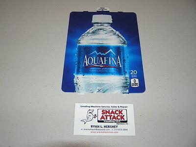 Dixie Narco 501e 276hv Soda Vending Machine Aquafina 20oz Bottle Vend Label