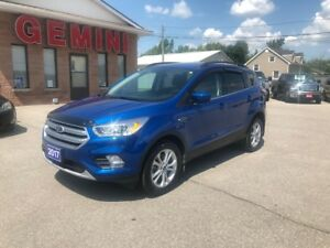 2017 Ford Escape SE 4x4 Navi Heated Seats