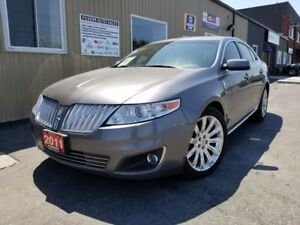 2011 Lincoln MKS NAVIGATION-PAN ROOF-LEATHER-BACK UP CAMERA