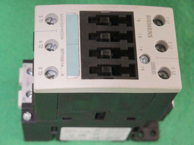 CARRIER SIEMENS 3RT10331A20 IEC CONTACTOR 3POLE 24VAC 11KW 400V 3RT1033-1AC20