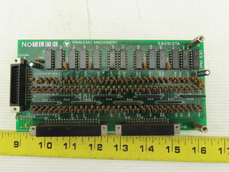 Mazak Yamazaki S829137A IPM-530 Control Circuit Board