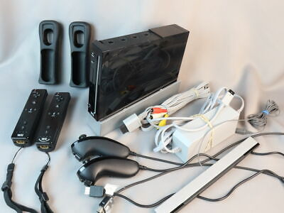 Nintendo Wii RVL-001 black Video Game Console