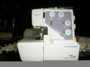 Overlock JANOME Electronic controller, no padel as is Wentworthville Parramatta Area Preview