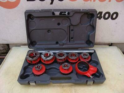 Ridgid 12-r Die Set 38 To 2 Inch Great Shape