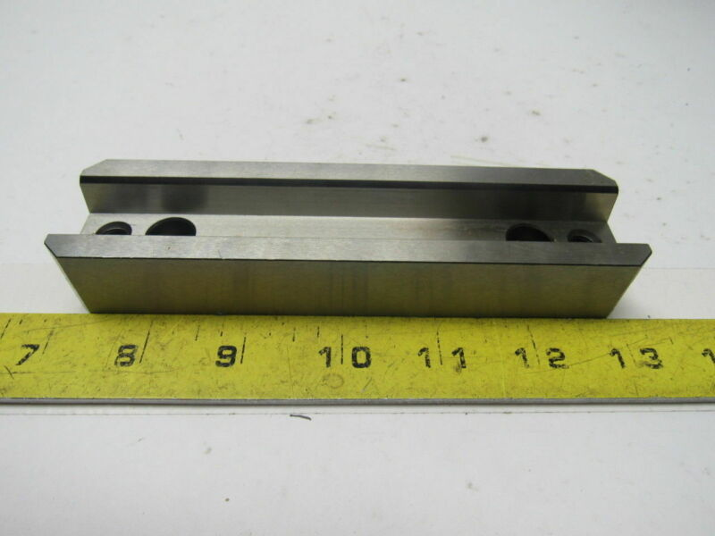 """DME FTR 126 Female Rectangular Tapered Mold Interlock 5.98"""" OAL. X 1.499"""" Wide"""